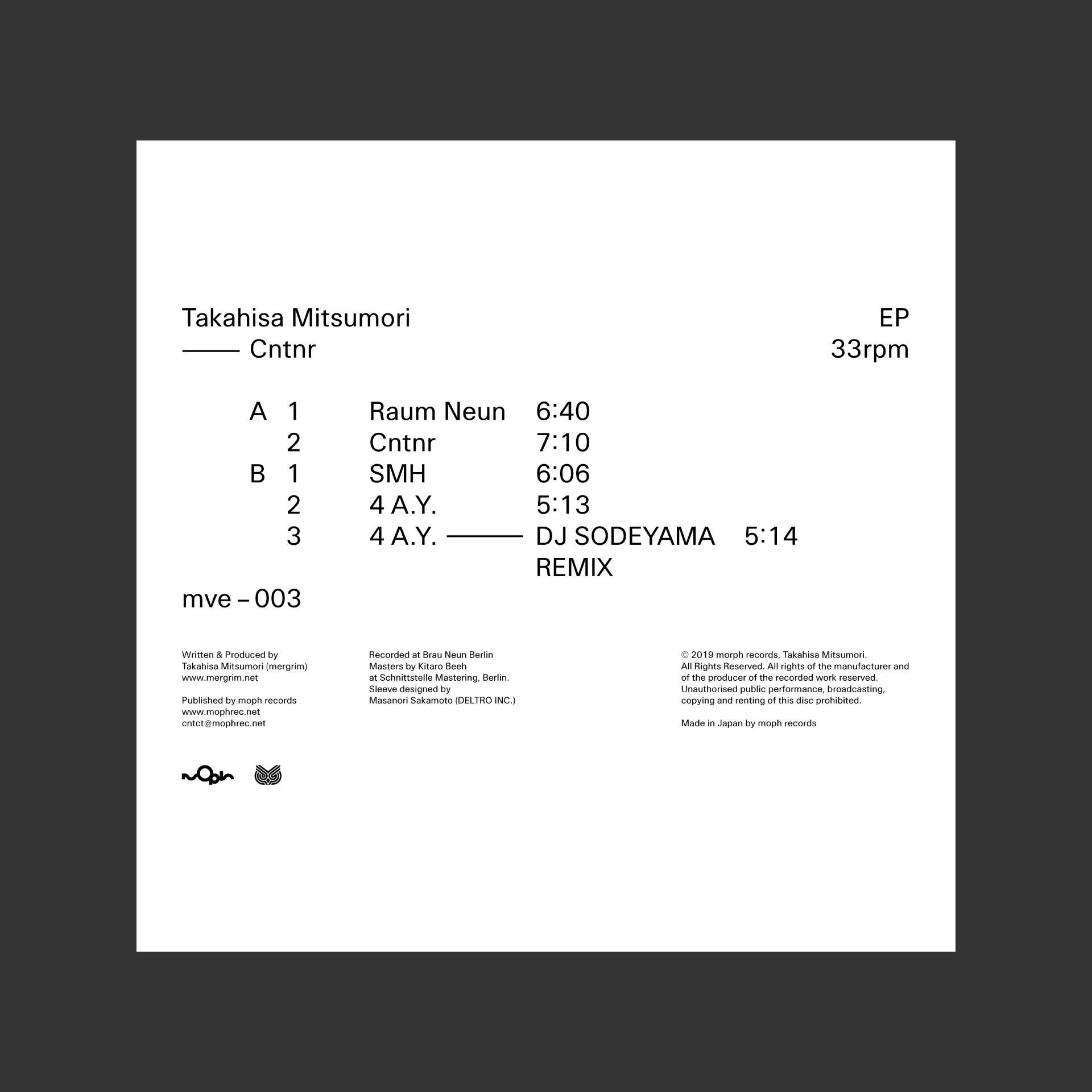 Takahisa Mitsumori — Cntnr