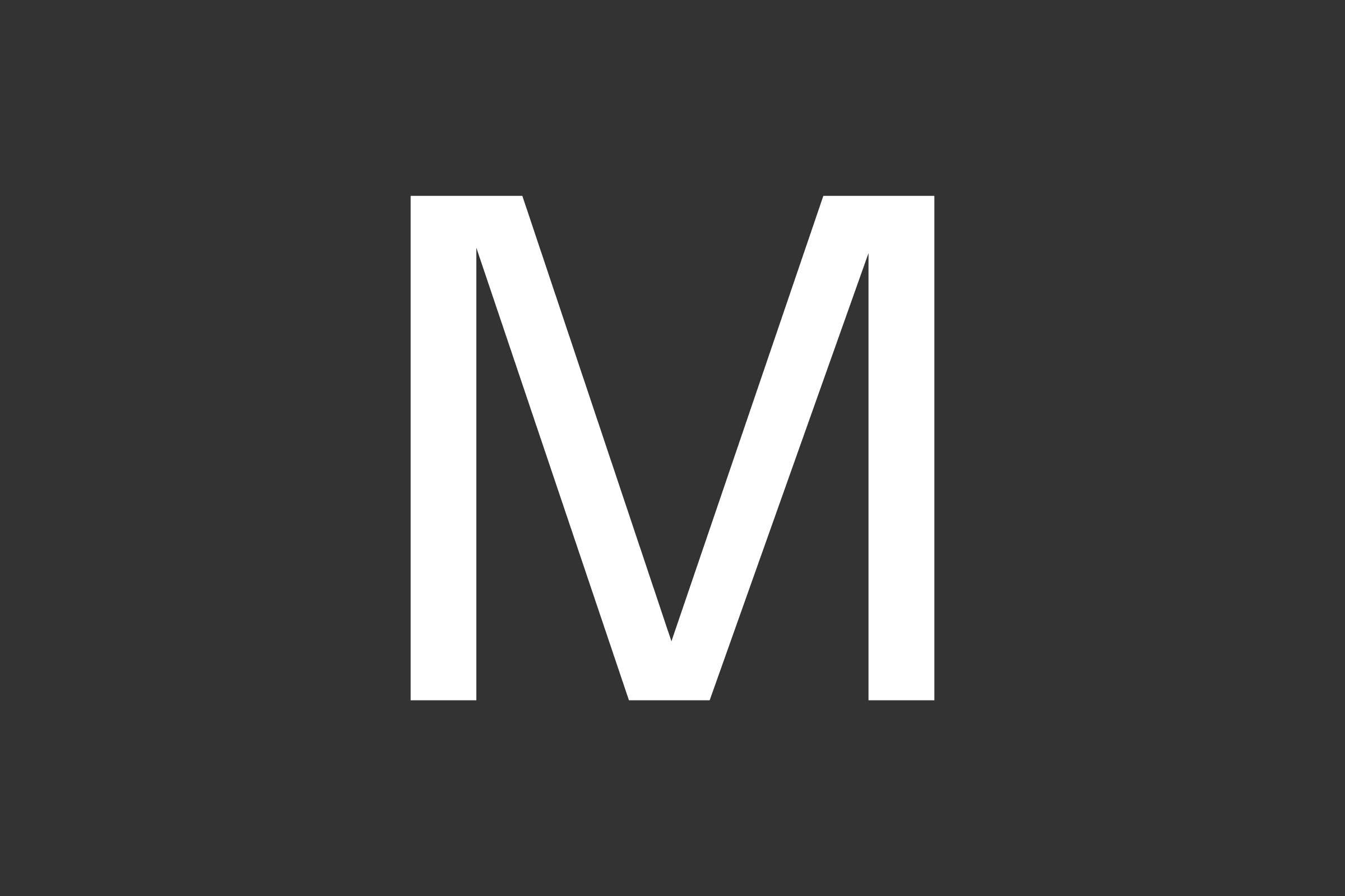 MAU: Design Informatics / Typography